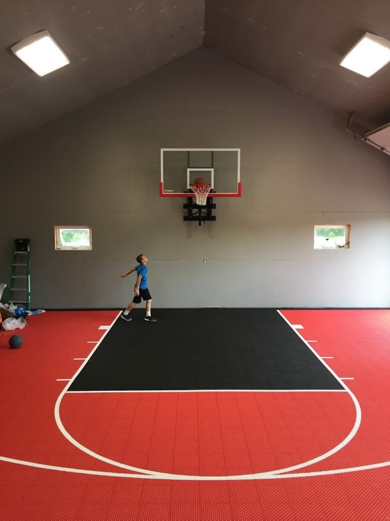 Financial goal checkup my very own basketball court my for Basketball garage